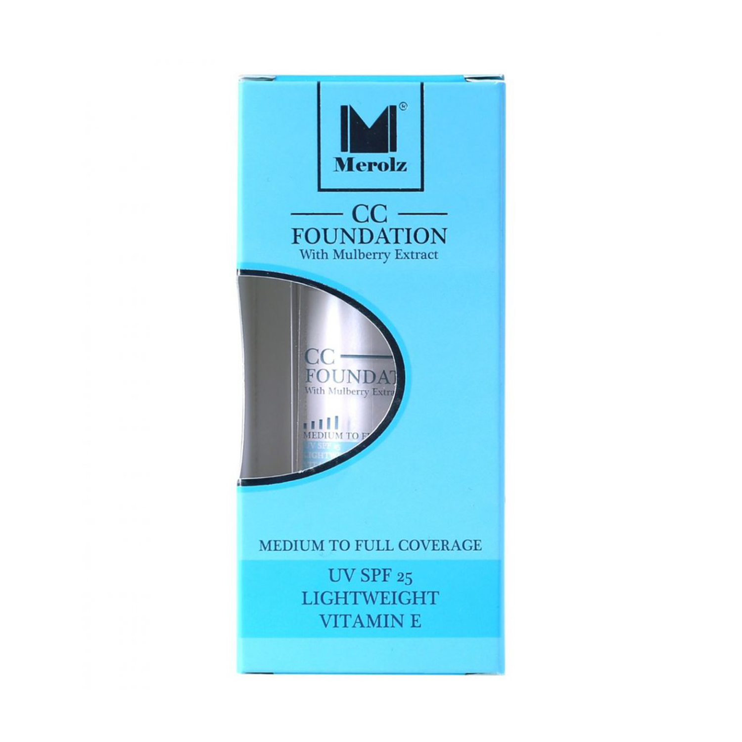 Merolz Cc Foundation With Mulberry Extract - Spf25
