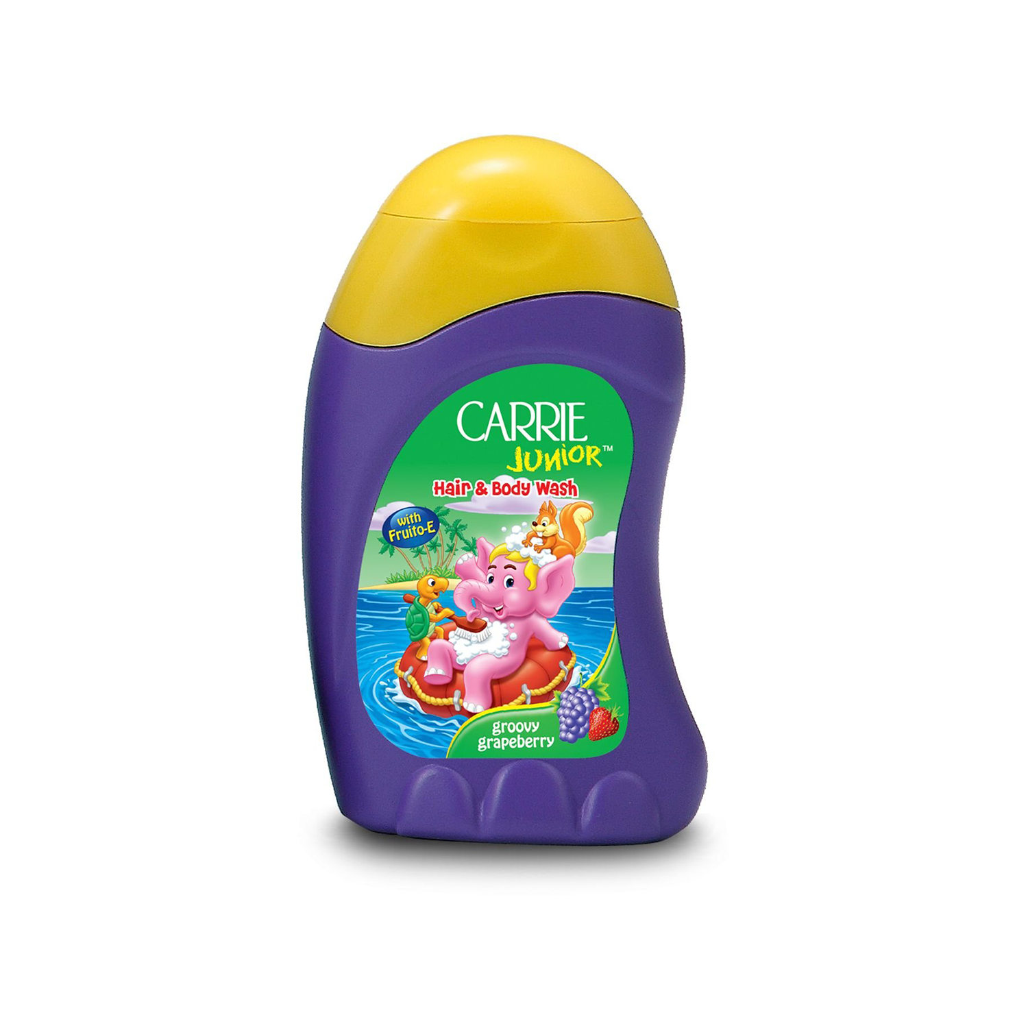Carrie Junior Hand & Body Wash Groovy Grapeberry 280Ml