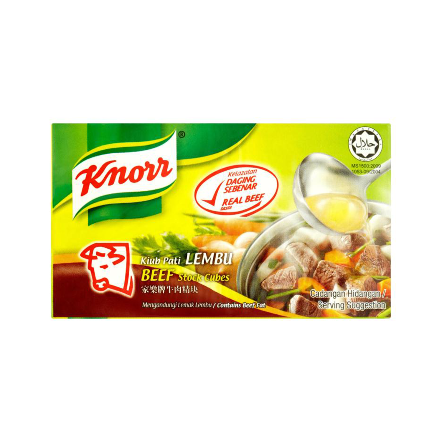 Knorr Beef 6 Cubes 60G