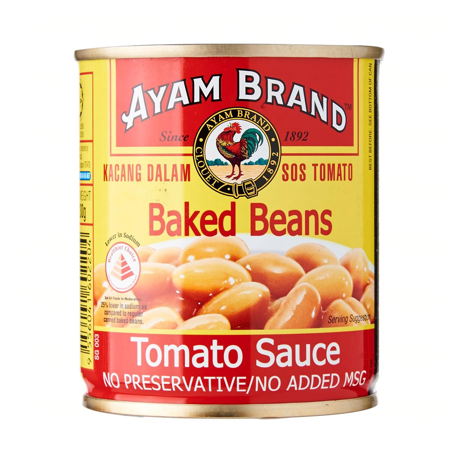 AYAM BRAND BAKED BEANS IN TOMATO SAUCE 230GM