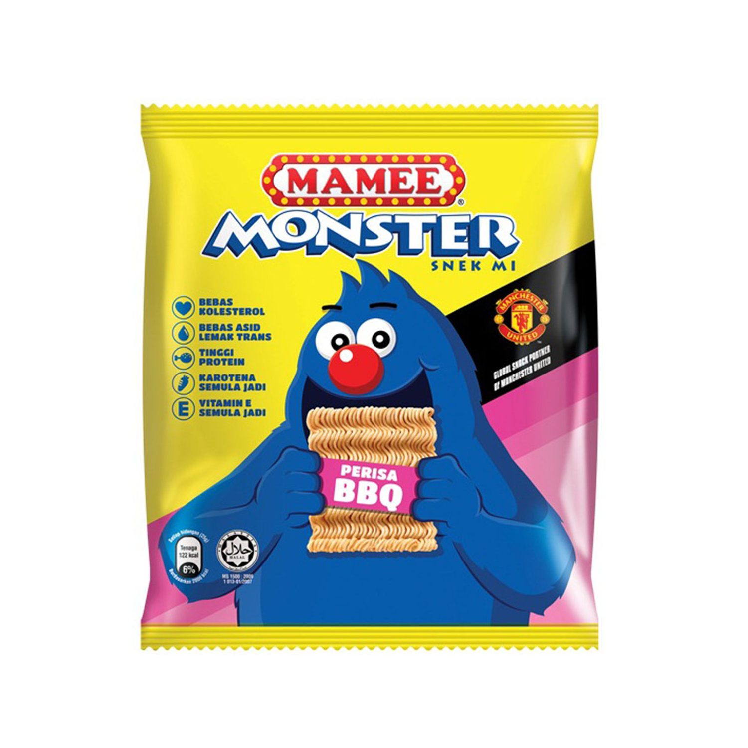 MAMEE MONSTER FAMILY PACK BBQ 8'S X 25G
