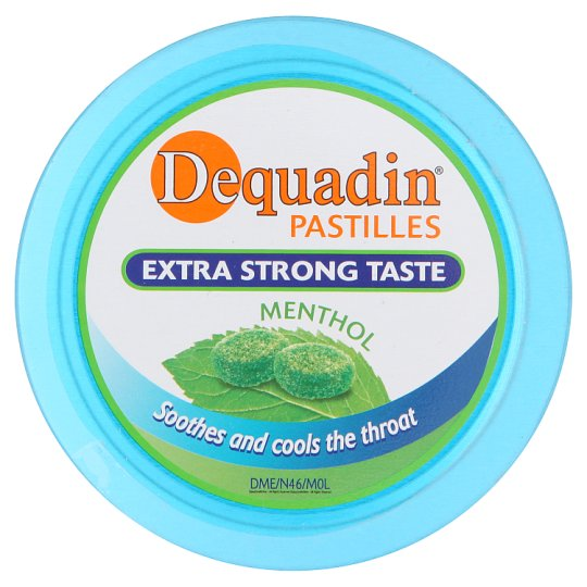 Dequadin Pastille Extra Strong Menthol 46G
