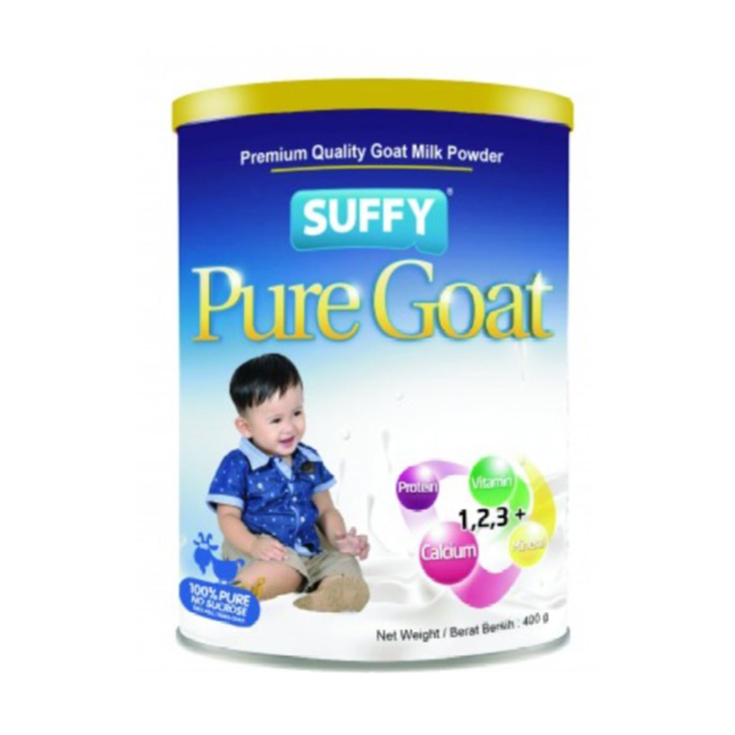 Suffy Pure Goat 1,2,3 400G